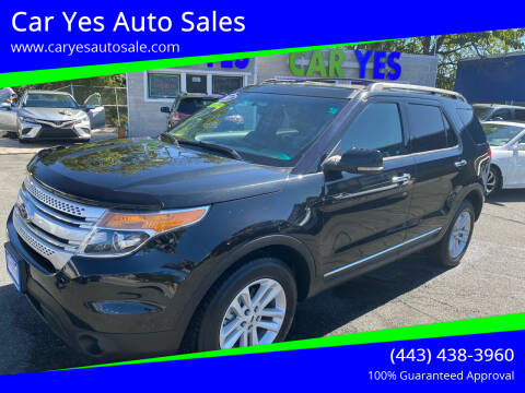 2013 Ford Explorer for sale at Car Yes Auto Sales in Baltimore MD