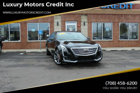 2016 Cadillac CT6 for sale at Luxury Motors Credit Inc in Bridgeview IL