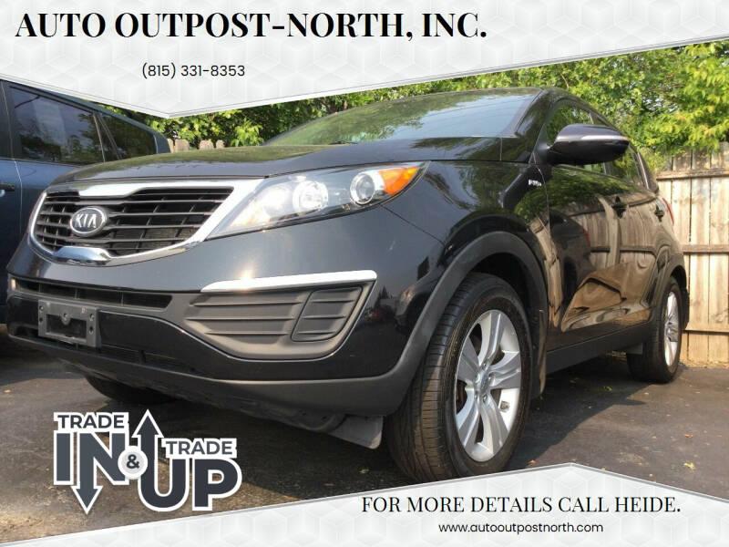 2012 Kia Sportage for sale at Auto Outpost-North, Inc. in McHenry IL