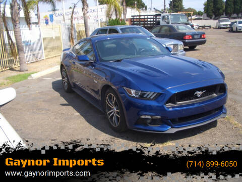 2016 Ford Mustang for sale at Gaynor Imports in Stanton CA