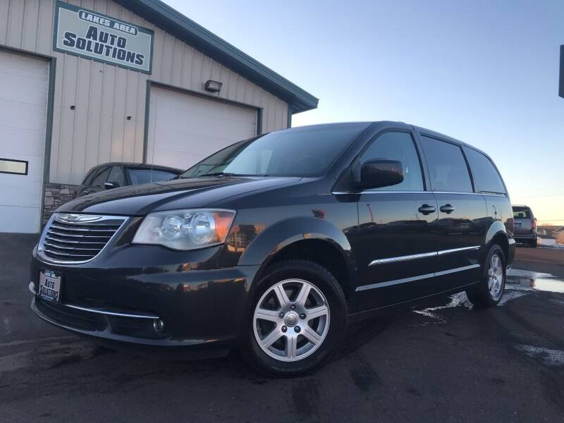 2012 Chrysler Town and Country for sale at Lakes Area Auto Solutions in Baxter MN