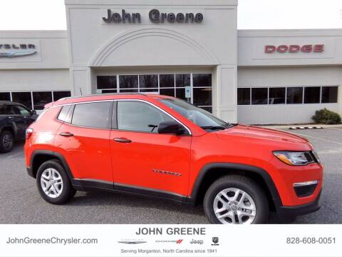 2021 Jeep Compass for sale at John Greene Chrysler Dodge Jeep Ram in Morganton NC