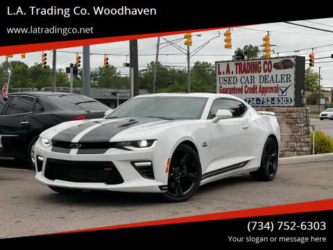 2017 Chevrolet Camaro for sale at L.A. Trading Co. Woodhaven in Woodhaven MI