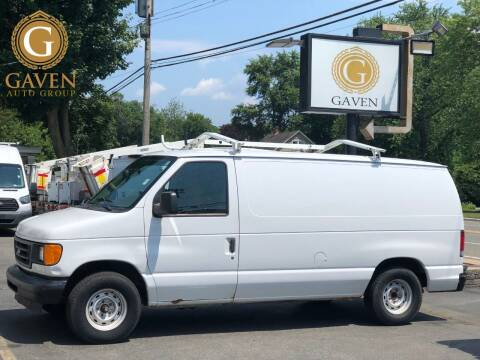 2003 Ford E-Series Cargo for sale at Gaven Auto Group in Kenvil NJ