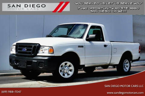 2011 Ford Ranger for sale at San Diego Motor Cars LLC in San Diego CA