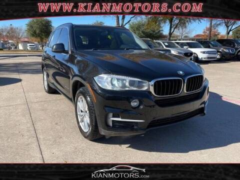 2014 BMW X5 for sale at KIAN MOTORS INC in Plano TX