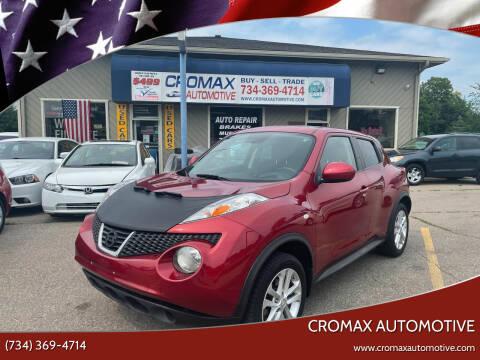 2011 Nissan JUKE for sale at Cromax Automotive in Ann Arbor MI