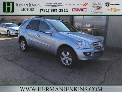 2007 Mercedes-Benz M-Class for sale at Herman Jenkins Used Cars in Union City TN