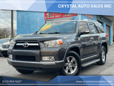 2013 Toyota 4Runner for sale at Crystal Auto Sales Inc in Nashville TN