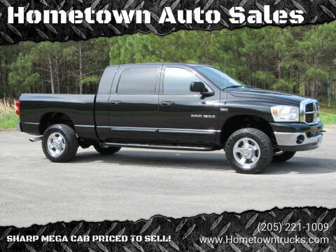 2007 Dodge Ram Pickup 1500 for sale at Hometown Auto Sales - Trucks in Jasper AL