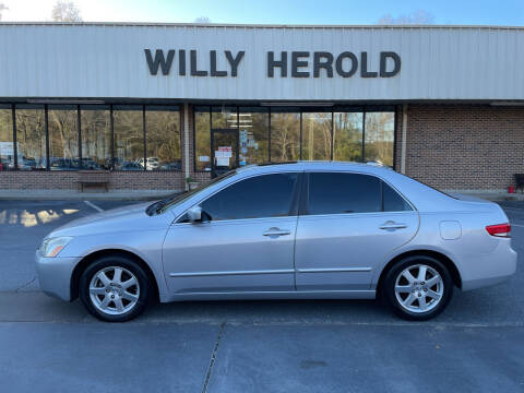 2004 Honda Accord for sale at Willy Herold Automotive in Columbus GA