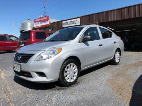 2012 Nissan Versa for sale at WINDOM AUTO OUTLET LLC in Windom MN