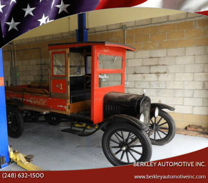 1923 Ford Model T for sale at Berkley Automotive Inc. in Berkley MI