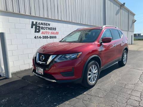 2017 Nissan Rogue for sale at HANSEN BROTHERS AUTO SALES in Milwaukee WI