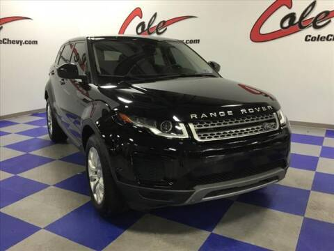 2018 Land Rover Range Rover Evoque for sale at Cole Chevy Pre-Owned in Bluefield WV