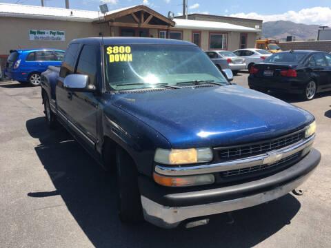 2000 Chevrolet Silverado 1500 for sale at Creekside Auto Sales in Pocatello ID