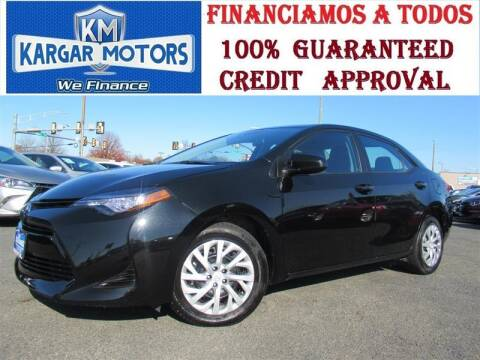 2019 Toyota Corolla for sale at Kargar Motors of Manassas in Manassas VA