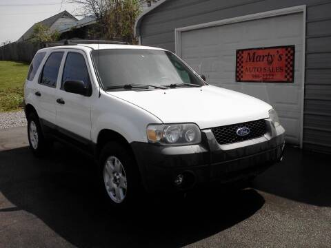 2005 Ford Escape for sale at Marty's Auto Sales in Lenoir City TN