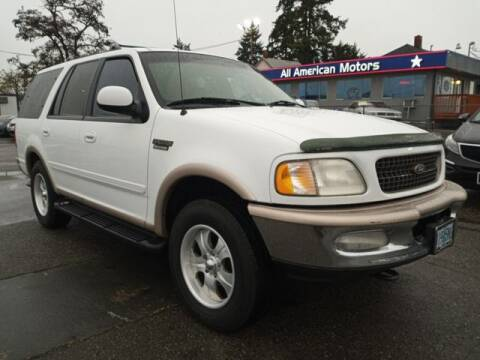 1998 Ford Expedition for sale at All American Motors in Tacoma WA
