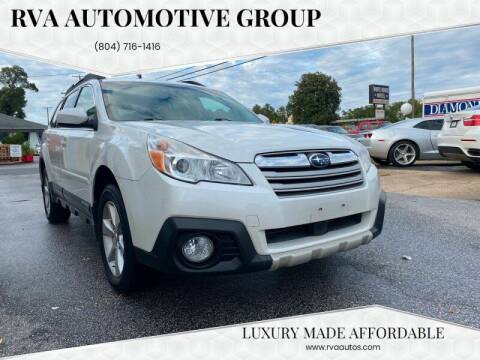2014 Subaru Outback for sale at RVA Automotive Group in North Chesterfield VA