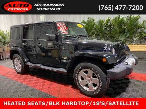 2012 Jeep Wrangler Unlimited for sale at Auto Express in Lafayette IN