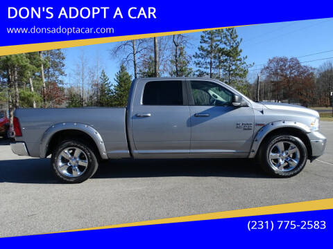 2019 RAM Ram Pickup 1500 Classic for sale at DON'S ADOPT A CAR in Cadillac MI