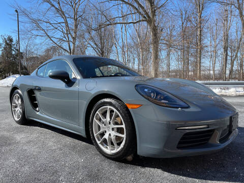 2018 Porsche 718 Cayman for sale at Vantage Auto Wholesale in Lodi NJ