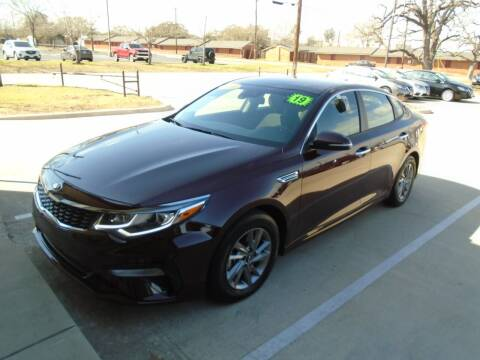 2019 Kia Optima for sale at Eastep Auto Sales in Bryan TX