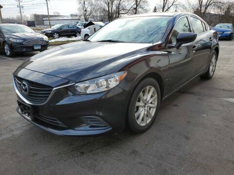 2016 Mazda MAZDA6 for sale at MIDWEST CAR SEARCH in Fridley MN