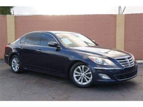 2012 Hyundai Genesis for sale at Concept Auto Inc in Miami FL
