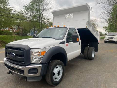 2013 Ford F-550 Super Duty for sale at Advanced Fleet Management in Bloomfield NJ