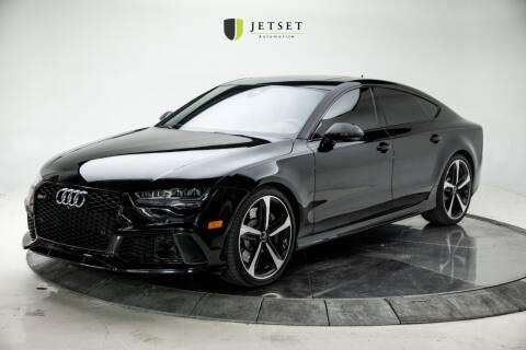 2016 Audi RS 7 for sale at Jetset Automotive in Cedar Rapids IA