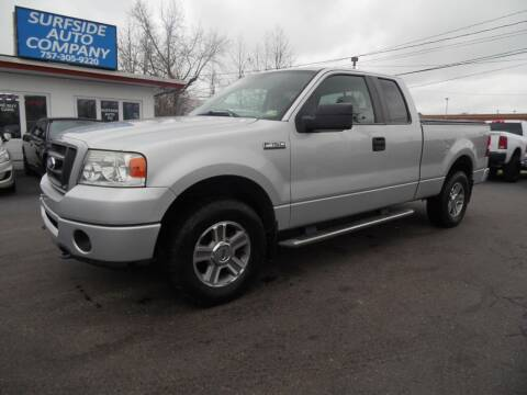 2008 Ford F-150 for sale at Surfside Auto Company in Norfolk VA
