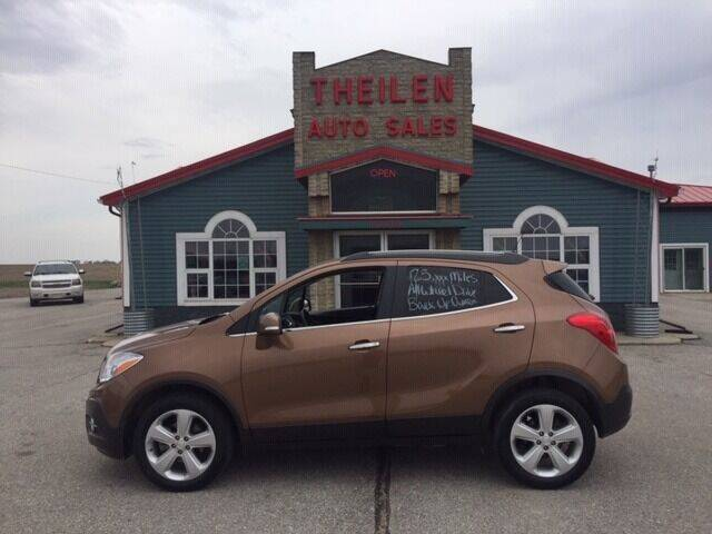 2016 Buick Encore for sale at THEILEN AUTO SALES in Clear Lake IA