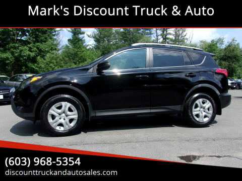 2015 Toyota RAV4 for sale at Mark's Discount Truck & Auto in Londonderry NH