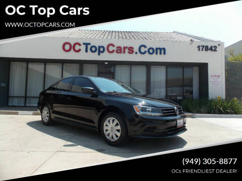 2016 Volkswagen Jetta for sale at OC Top Cars in Irvine CA