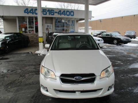 2008 Subaru Legacy for sale at Elite Auto Sales in Willowick OH