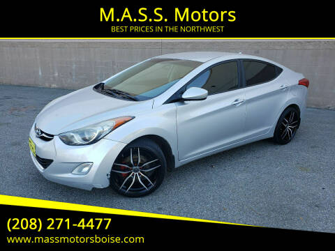 2013 Hyundai Elantra for sale at M.A.S.S. Motors in Boise ID