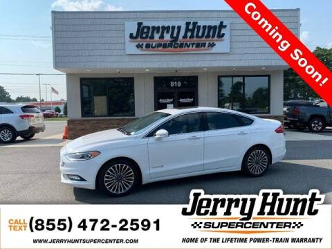 2017 Ford Fusion Hybrid for sale at Jerry Hunt Supercenter in Lexington NC
