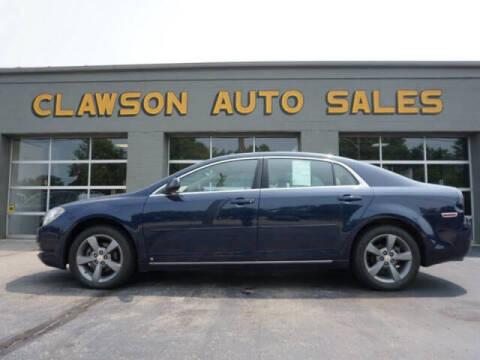 2009 Chevrolet Malibu for sale at Clawson Auto Sales in Clawson MI