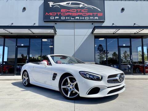 2017 Mercedes-Benz SL-Class for sale at Exotic Motorsports of Oklahoma in Edmond OK
