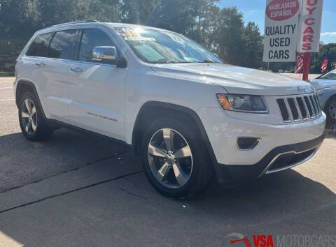 2014 Jeep Grand Cherokee for sale at VSA MotorCars in Cypress TX