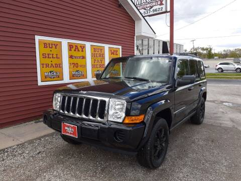 2007 Jeep Commander for sale at Mack's Autoworld in Toledo OH