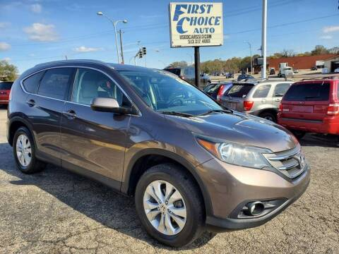 2014 Honda CR-V for sale at FIRST CHOICE AUTO Inc in Middletown OH