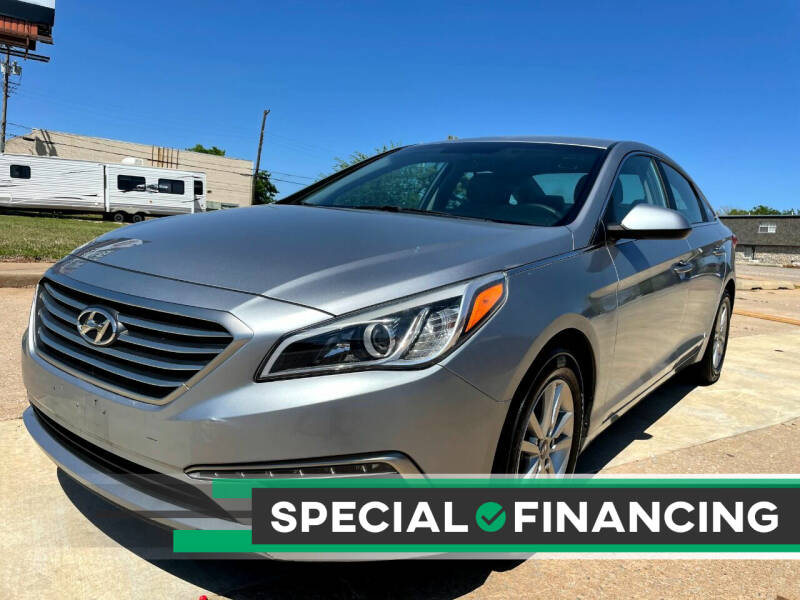 2015 Hyundai Sonata for sale at Automay Car Sales in Oklahoma City OK
