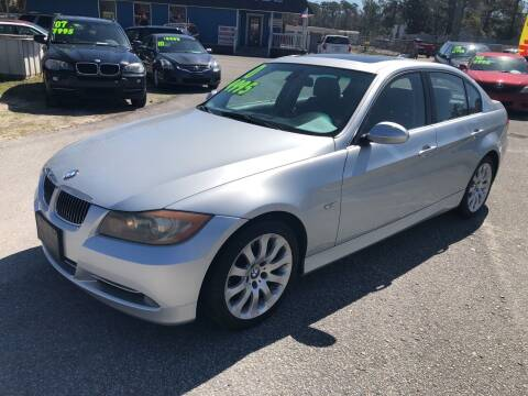2008 BMW 3 Series for sale at County Line Car Sales Inc. in Delco NC
