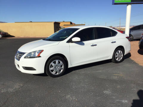 2015 Nissan Sentra for sale at SPEND-LESS AUTO in Kingman AZ