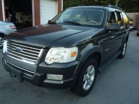 2007 Ford Explorer for sale at Credit Cars LLC in Lawrenceville GA