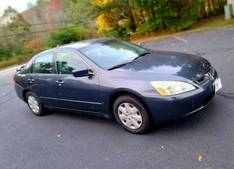2003 Honda Accord for sale at Flying Wheels in Danville NH