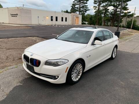 2011 BMW 5 Series for sale at Lux Car Sales in South Easton MA